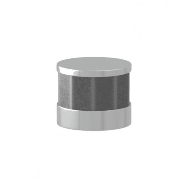Turnstyle Designs Cabinet knob - Alupewt Amalfine / Bright chrome - Model P8742