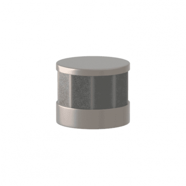 Turnstyle Designs Cabinet knob -  Alupewt Amalfine / Satin nickel - Model P8742
