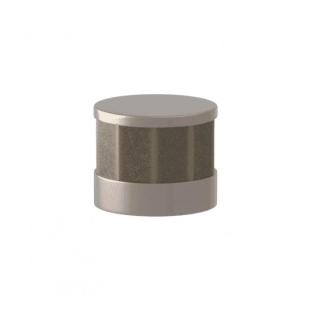 Turnstyle Designs Møbelknop - Sølv bronze Amalfine / Satin nikkel - Model P8742