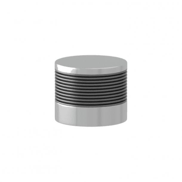 Turnstyle Designs Cabinet knob - Alupewt Amalfine / Bright chrome - Model P8755