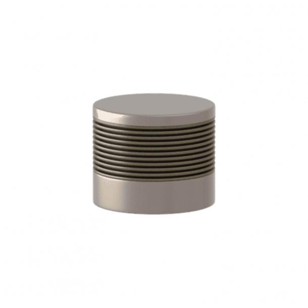 Turnstyle Designs Cabinet knob - Silver bronze Amalfine / Satin nickel - Model P8755