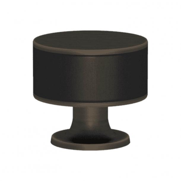 Uchwyt - Turnstyle Designs - Czarna skóra / Patyna - Model R5065