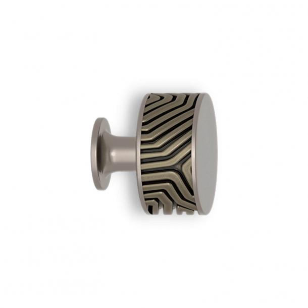 Uchwyt - Srebrny brąz / Nikiel satynowy - Labirynt - Model B9322