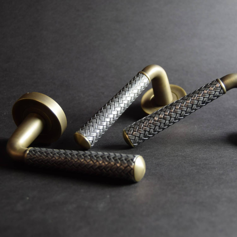 Turnstyle Design - Læder dørgreb - Villahus