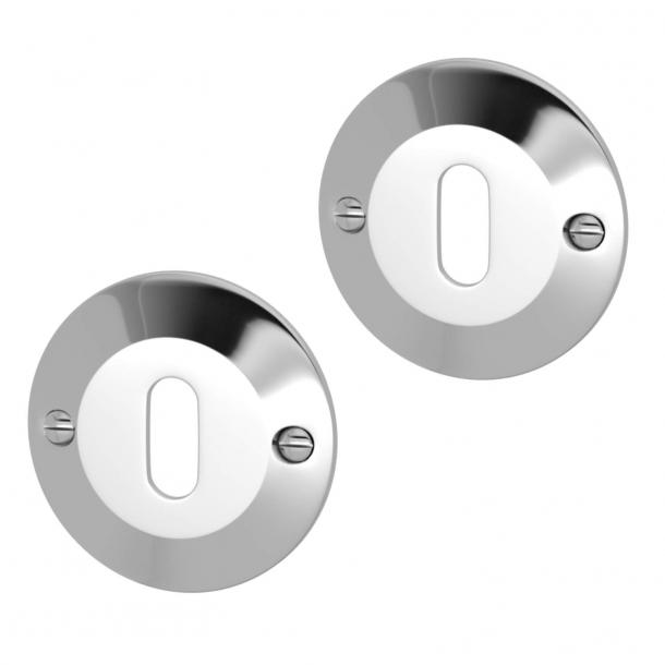 Nyckelring - Krom - Turnstyle Designs Model S5277 - ø52 mm