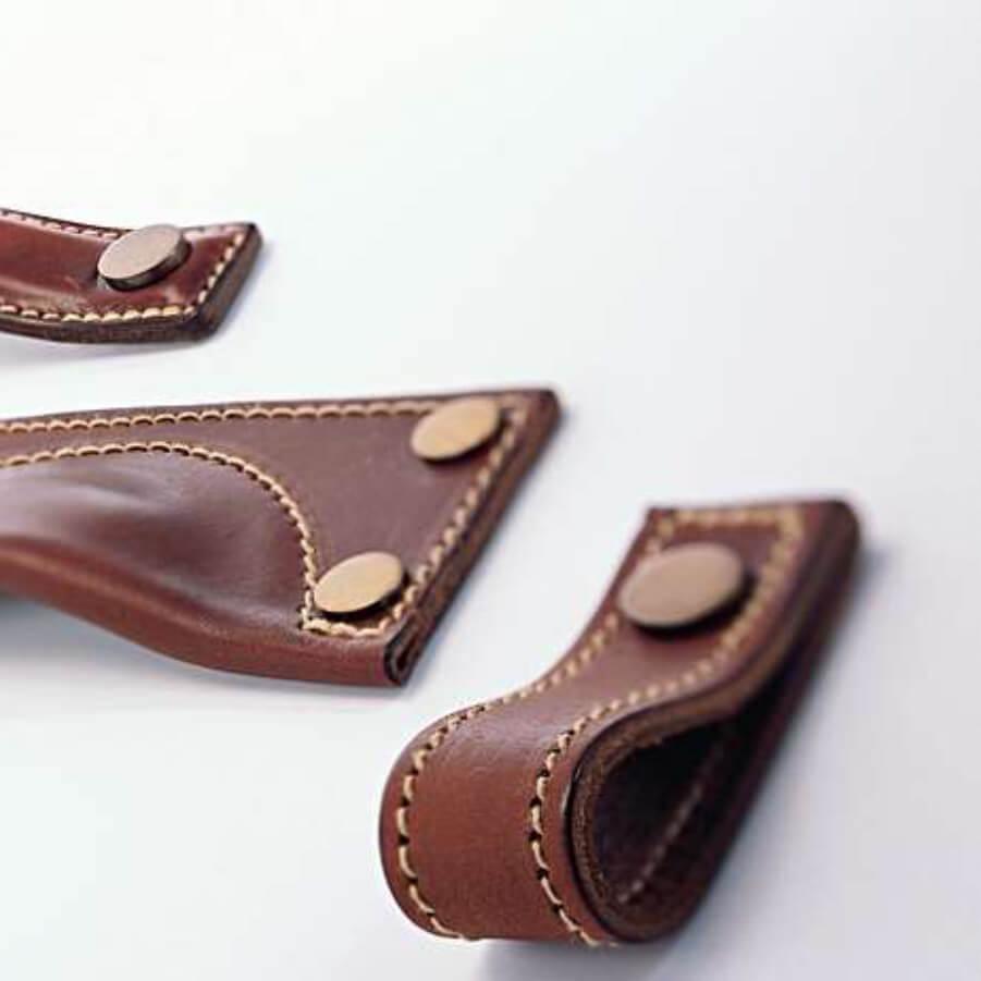 Møbelgreb - Læder - Turnstyle