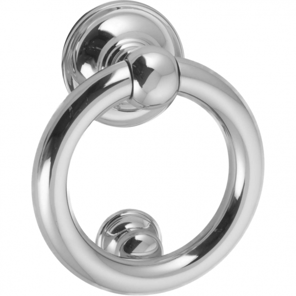 Door knocker ring 701, Chrome, 125 mm (701-125-CR)