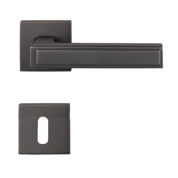 Door handle H1056 Quadra, Interior, Nickel black