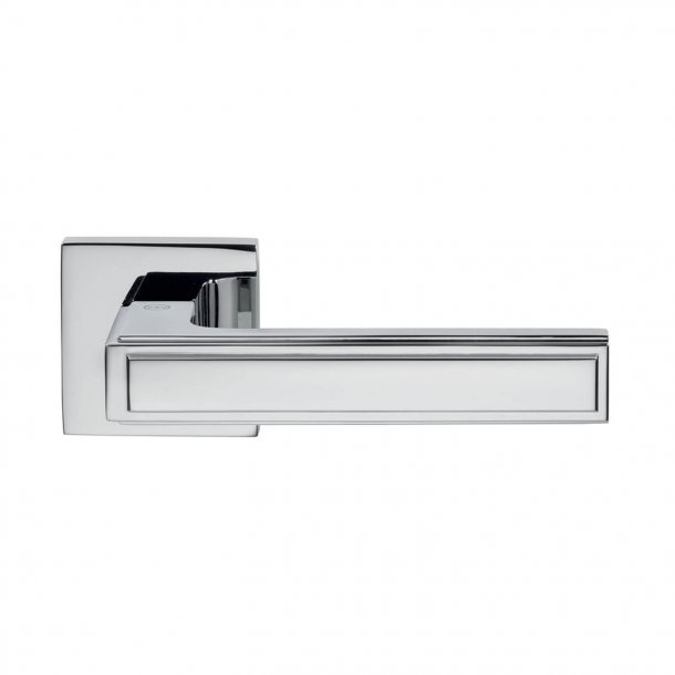 Door handle H1056 Quadra, Interior, Polished Chrome