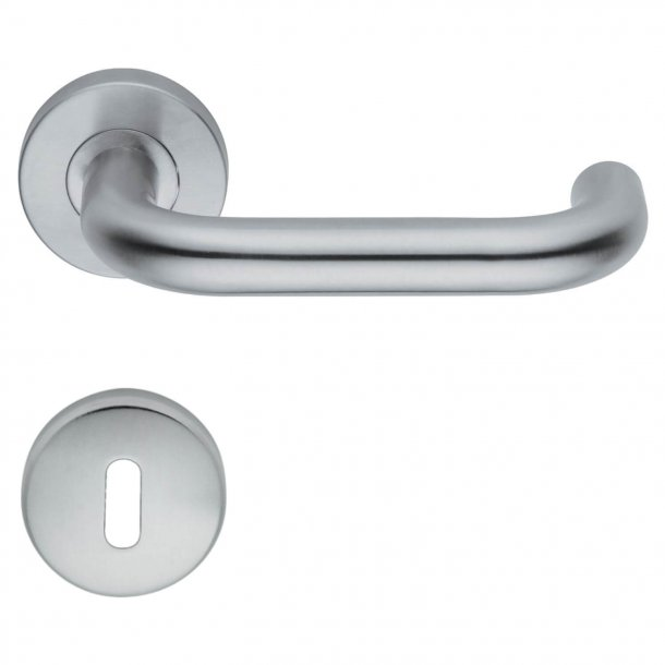 Door handle - H414 Amber - Interior - Stainless steel