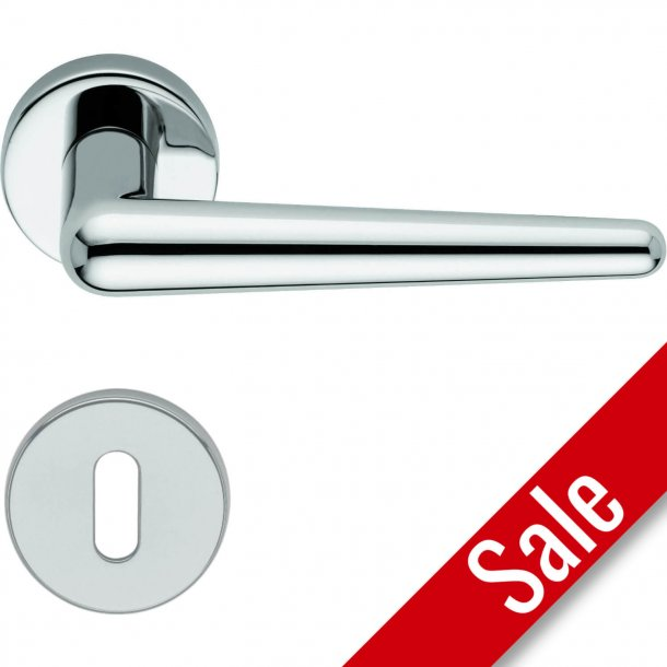 Door handle H421 Didone, Interior, Polished chrome