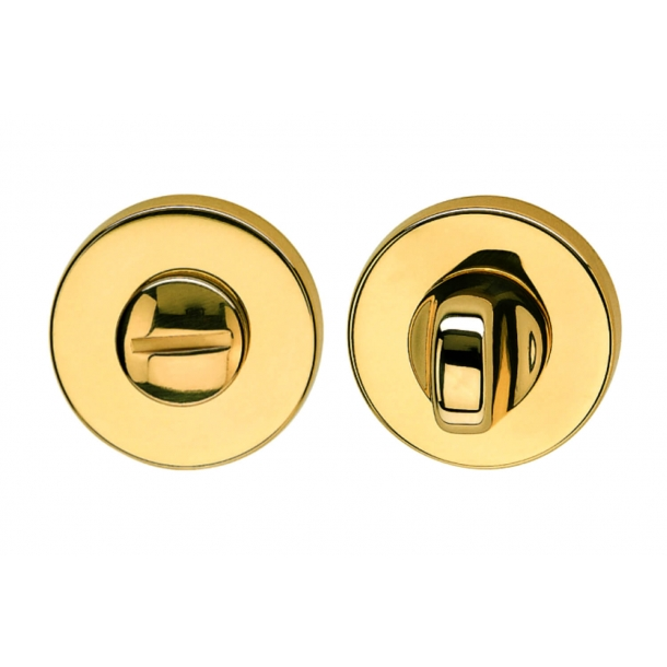 Privacy lock - Brass - K1704 R - Valli&Valli