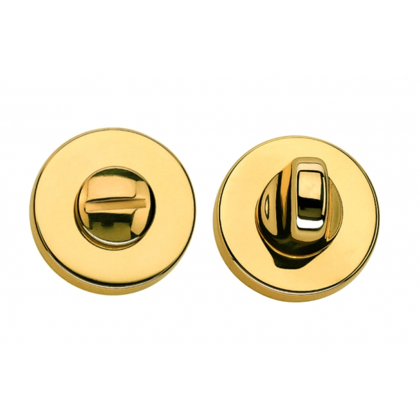 Privacy lock - Brass - K43 - Valli&Valli