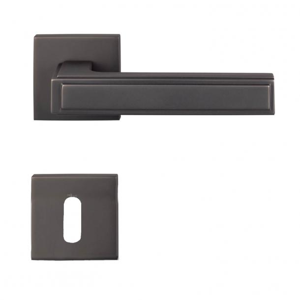Türgriff H1056 Quadra - Innenbereich - Nickel schwarz