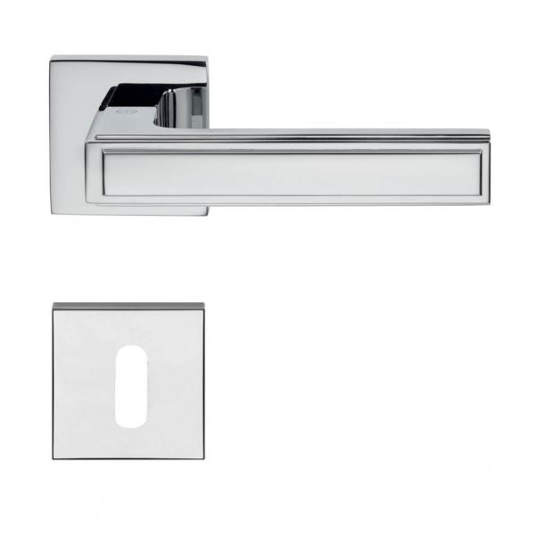 Türgriff H1056 Quadra - Interieurraum - Chrom glänzend