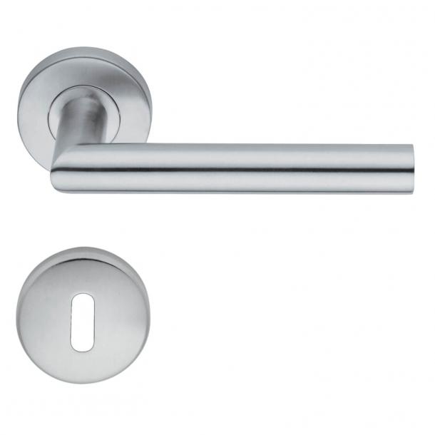 Türgriffe - Schlüsselloch - Interieurraum - H416.R8.Satinato - Edelstahl