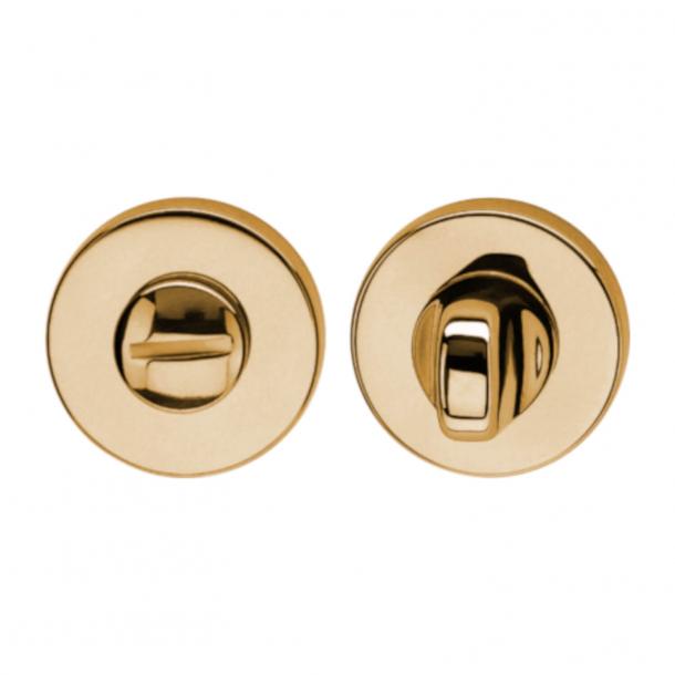 Privacy lock - Brushed Brass - K1704 R - Valli&Valli