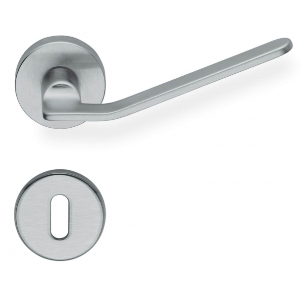 Design door handle - Brushed chrome - Fusital model H310