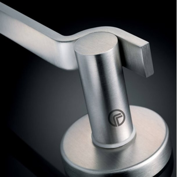 Design door handle H5023, Satin Stainless Steel