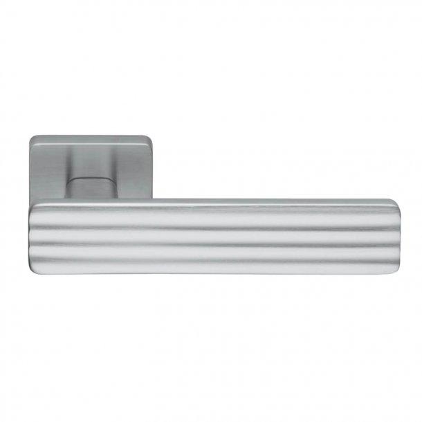 Design dörrhandtag H370, Matkrom