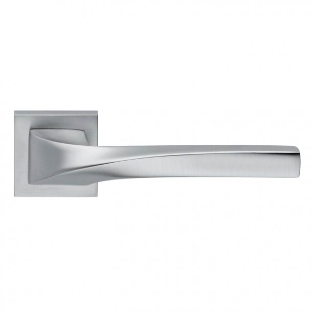 Design dørgreb H372, Mat krom