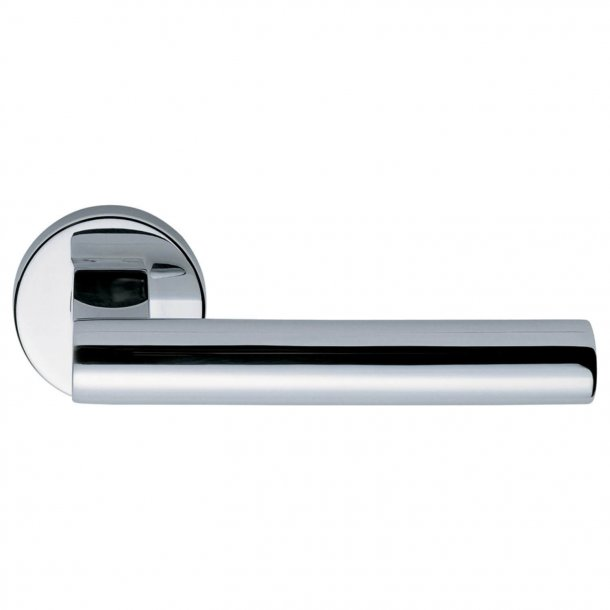 Design door handle H5017, Polished Stainless Steel