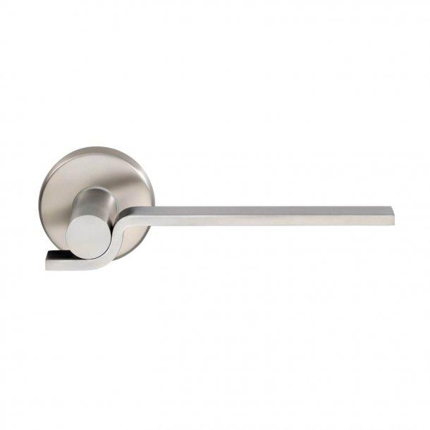 Design dørgreb H5023, Poleret stål