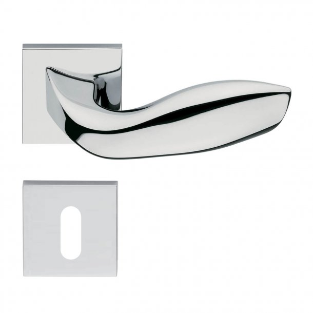 Design door handle H354, Chrome