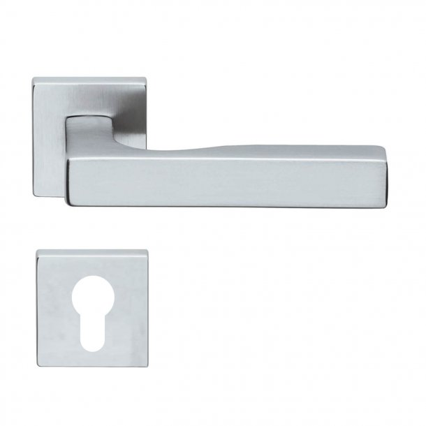 Design door handle H311, satin chrome