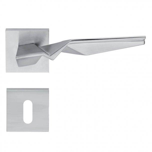 Design dørgreb H356, Mat krom
