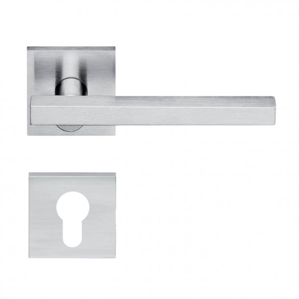 Design door handle H358, Satin Chrome