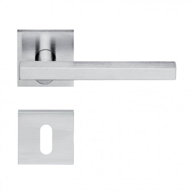 Design door handle H358, Satin Chrome
