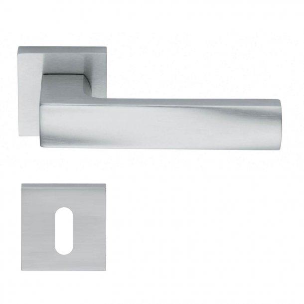 Design dørgreb H367, Mat krom