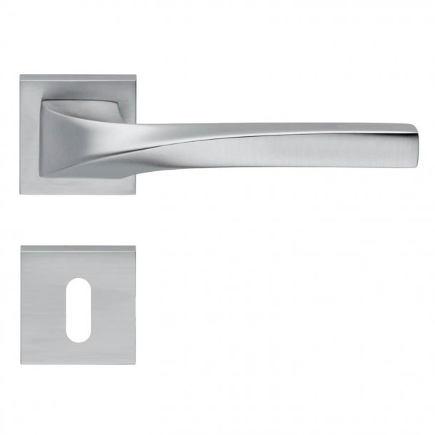 Design door handle H372, Satin Chrome
