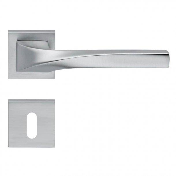Design dörrhandtag H372, Matkrom