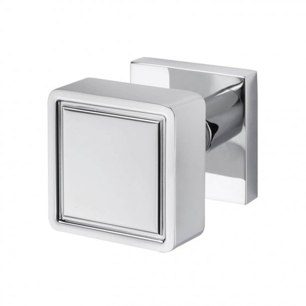 Door Knob - Chrome - 55x55 mm - Model K1056